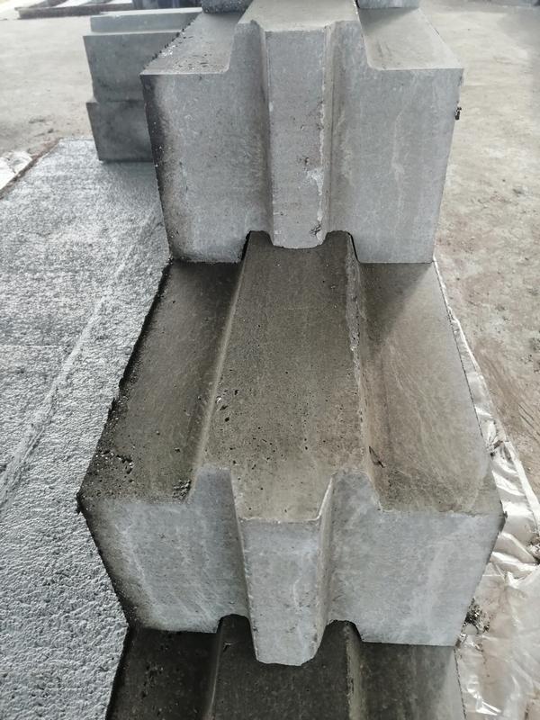 Блок пазогребневый полистиролбетонный