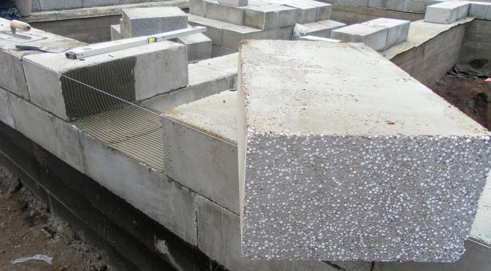 Стеновой теплый блок