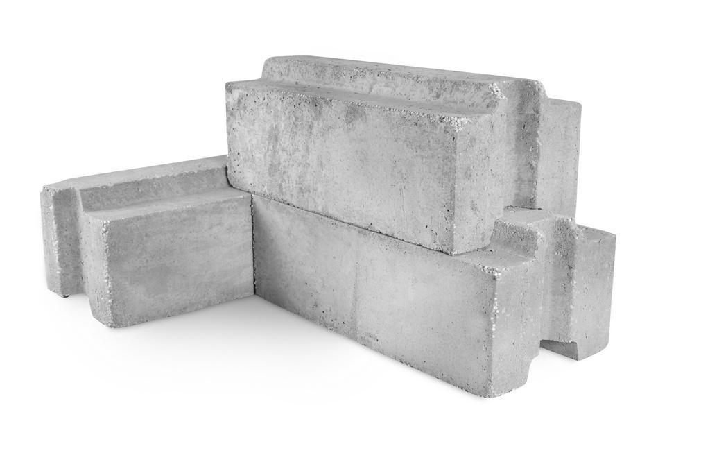 Блок паз-гребень полистиролбетонный