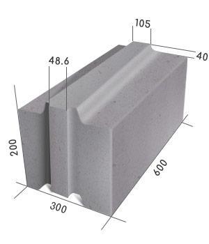 блок пазогребневый стеновой