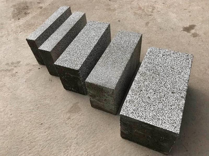 размер полистиролбетонных блоков