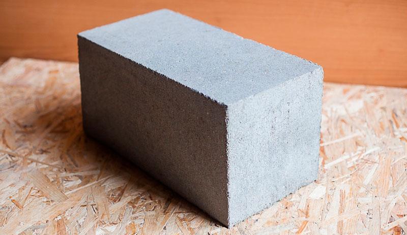 Блоки из пескобетона