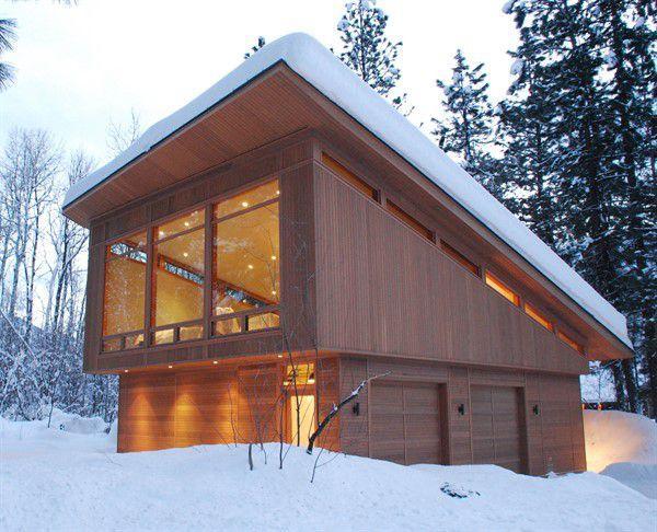 односкатная крыша для частного дома